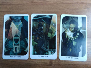 «Dragon Age: Inquisition» Tarot: Старшие 6-8