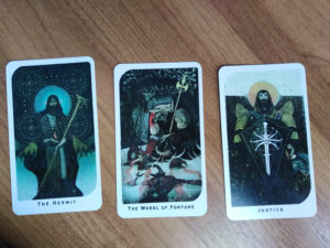 «Dragon Age: Inquisition» Tarot: Старшие 9-11