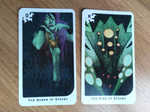 «Dragon Age: Inquisition» Tarot: Жезлы (Тень) Королева, Король