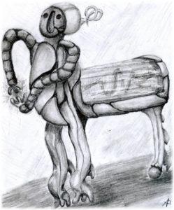 Пираты-ниндзя-роботы-зомби: роботы